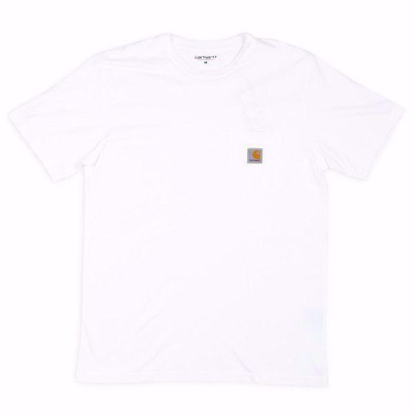 S/S Pocket T-Shirt - Carhartt - White