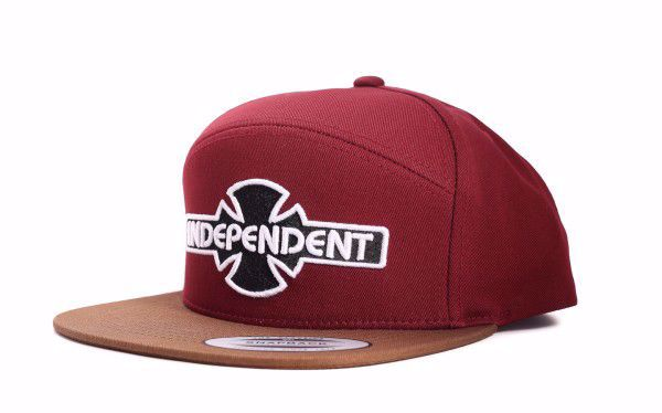 OGBC Cap - Independent - Burgundy/Tobacco