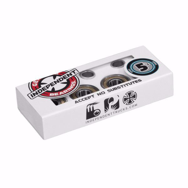 ABEC 5 Bearings - Independent - Silver