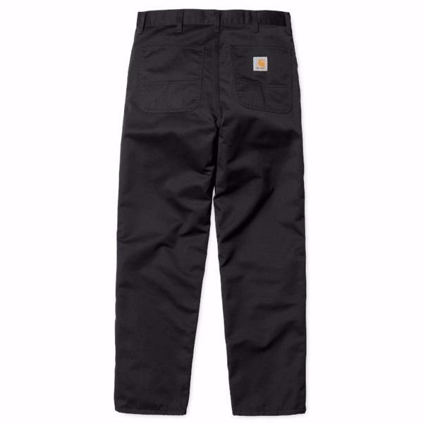 Simple Pant - Carhartt - Black Rinsed
