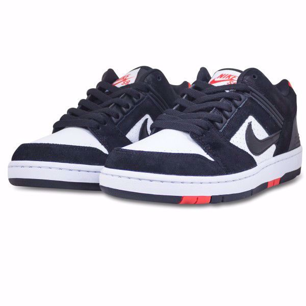 Air Force II Low - Nike SB - Black/Habanero Red