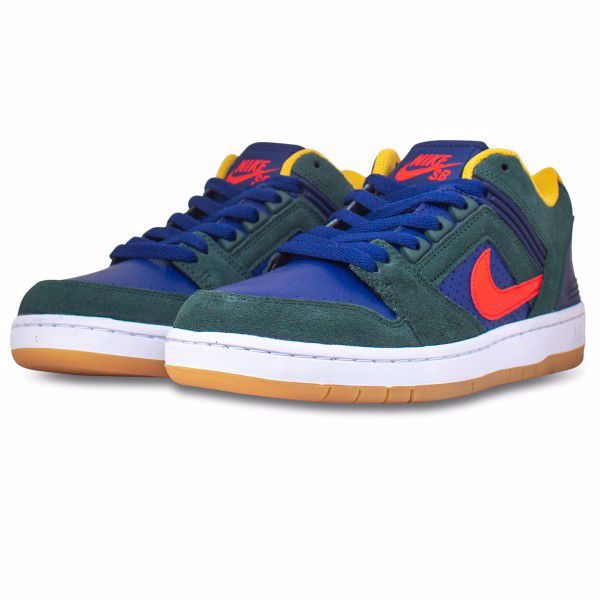 Air Force II Low - Nike SB - Midnight Navy/Red/Grn