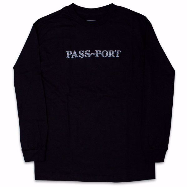 Official Sweaty Embroidered L/S - Pass-Port - Blck