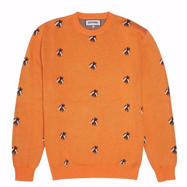Flies Knitted Sweatshirt - Fucking Aweseom - Orge