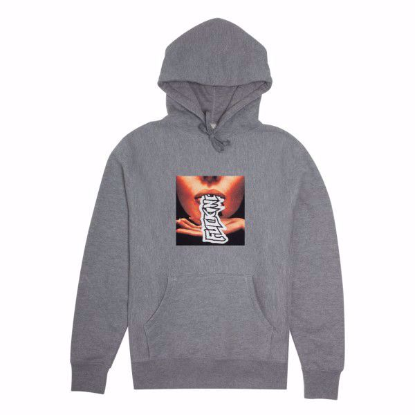 Slurp Hoodie - Fucking Awesome - Grey Heather