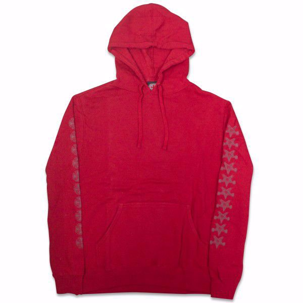 Indy x Thrasher Penta Hoodie - Independent - Red