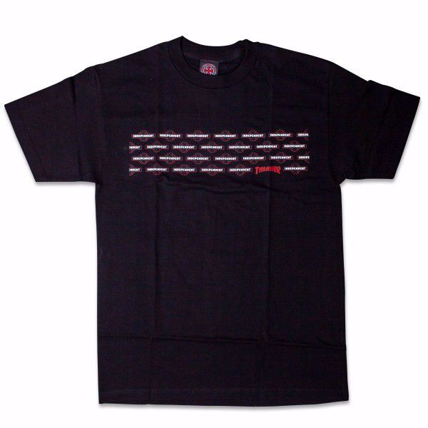 Indy x Thrasher Penta T-Shirt - Independent - Blck