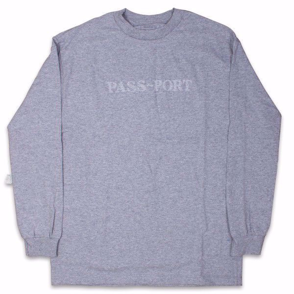 Official Sweaty Embroidered L/S - Pass-Port - Hthr