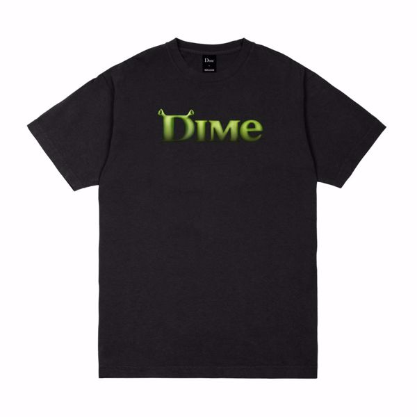 Somebody T-Shirt - Dime - Black