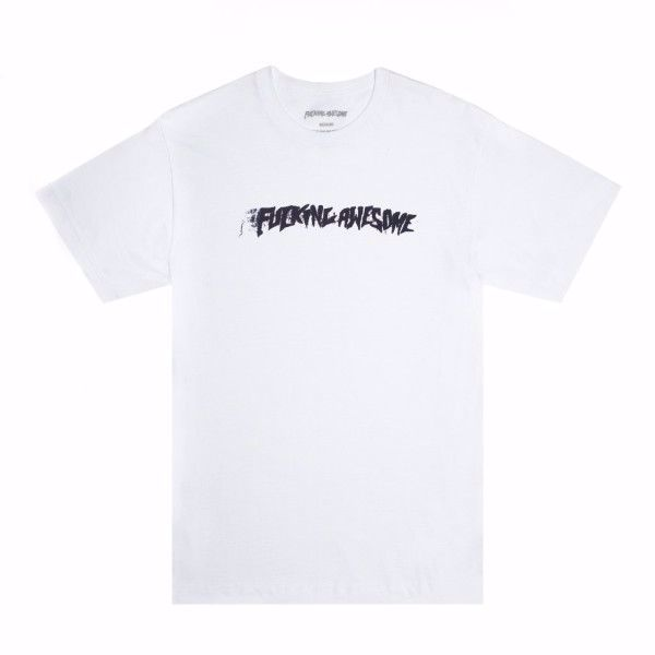 Stamp T-Shirt - Fucking Awesome - White