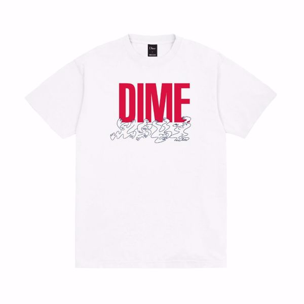 Support T-Shirt - Dime - White