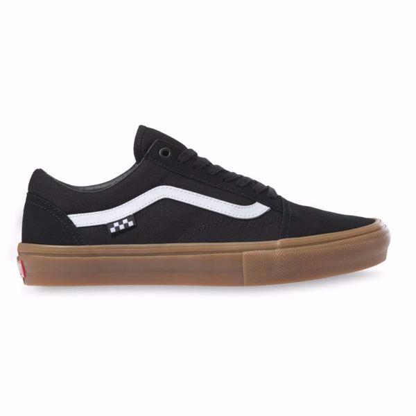 Skate Old Skool - Vans - Black/Gum