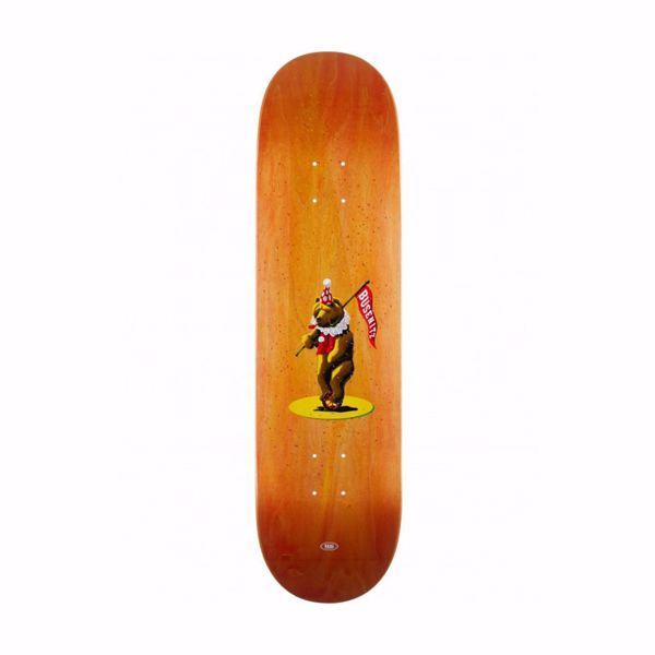 Busenitz Circus Bear - Real Skateboards - Orange